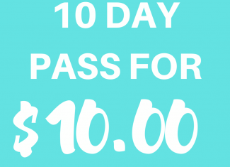 10 DAY UNLIMITED PASS FOR $10!🐰🤛🏼