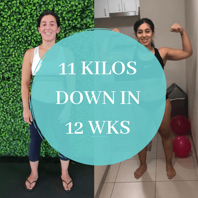11KG DOWN IN 12 WEEKS
